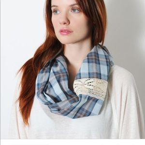 Blue Country Infinity Scarf